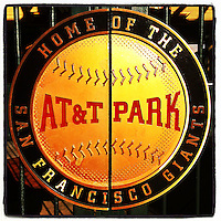 SAN FRANCISCO, CA - JUNE 6:  Instagram of a gate outside AT&T Park on June 6, 2014 in San Francisco, California. Photo by Brad Mangin