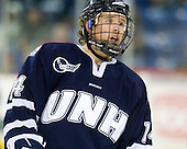 Mike Borisenok (UNH - 14) - The visiting University of New Hampshire Wildcats defeated the University of Massachusetts-Lowell River Hawks 3-0 on Thursday, December 2, 2010, at Tsongas Arena in Lowell, Massachusetts.