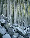 Basalt columns, Devil's Postpile National Monument, California  1986