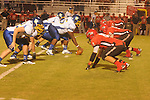 Oxford High's Clifton Smith (65) vs. Center Hill in Olive Branch, Miss. on Friday, September 21, 2012. Oxford High won.