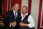 Wales in London Dinner.Mike Jordan & Jamie Baulch.Caledonian Club.19.06.12.©Steve Pope