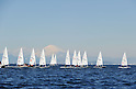 General View, FEBURARY 12, 2012 - Sailing : 2012 Int Laser Radial Class Japan National team and the World Championship team selection race, at Hayama, Kanagawa, Japan. ..(Photo by Atsushi Tomura/AFLO SPORT) [1035]