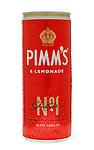 Can of Pimms & Lemonade