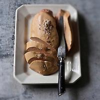 Europe/France/Alsace/67/Bas-Rhin/Strasbourg: Foie gras frais d'oie entier,  Foie gras d'Alsace  de chez  Feyel-Artzner