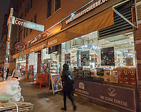The Murray's Cheese store in Greenwich Village in New York on Tuesday, February 7, 2017. Kroger Co., the largest grocery store chain in the U.S. has acquired Murray's Cheese located in Greenwich Village in New York for an undisclosed sum. Murray's opened in 1940  while Kroger is located in 35 states. Kroger has had a Murray's cheese department in 350 of its stores in an arrangement dating back to 2008.(© Richard B. Levine)