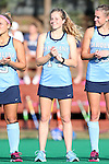 09 October 2015: North Carolina's Emma Bozek. The University of North Carolina Tar Heels hosted the Longwood University Lancers at Francis E. Henry Stadium in Chapel Hill, North Carolina in a 2015 NCAA Division I Field Hockey match. UNC won the game 8-1.