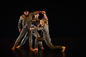 "London, UK. 31.05.2012. Rambert Dance Company presents a Season of New Choreography 2012 at the Queen Elizabeth Hall, Southbank, London. Picture shows: ""Heist"", choreographed by Jonathan Goddard and Gemma Nixon. Dancers are: Jonathan Goddard Gemma Nixon, Eryck Brahmania, Estela Merlos."