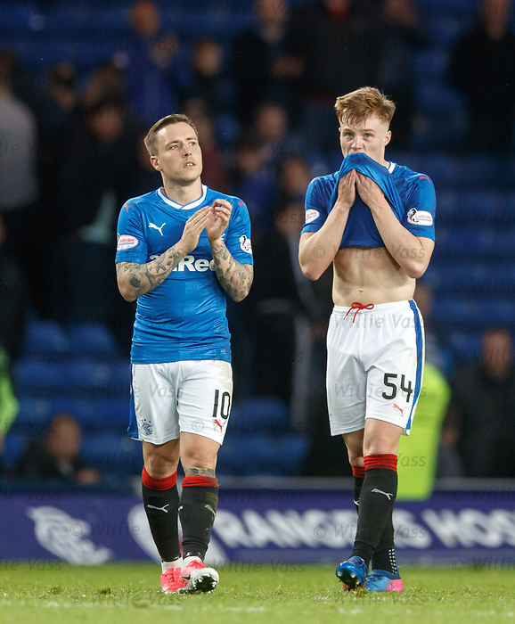Dejection from Barrie McKay and Aidan Wilson