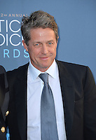 Hugh Grant at the 22nd Annual Critics' Choice Awards at Barker Hangar, Santa Monica Airport. <br /> December 11, 2016<br /> Picture: Paul Smith/Featureflash/SilverHub 0208 004 5359/ 07711 972644 Editors@silverhubmedia.com