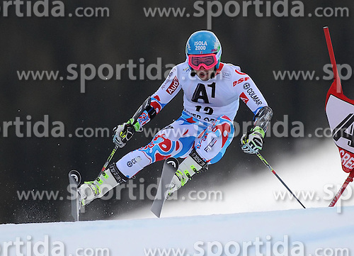 07.12.2014, Birds of Prey Course, Beaver Creek, USA, FIS Weltcup Ski Alpin, Beaver Creek, Herren, Riesenslalom, 1. Lauf, im Bild Mathieu Faivre (FRA) // Mathieu Faivre of France in actionduring the 1st run of men's Giant Slalom of FIS Ski World Cup at the Birds of Prey Course in Beaver Creek, United States on 2014/12/07. EXPA Pictures © 2014, PhotoCredit: EXPA/ Erich Spiess
