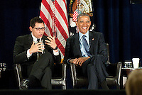March 29, 2016 - Atlanta, Georgia: President Barack Obama visited Atlanta Tuesday to participate in a panel discussion at the 2016 National Rx Drug Abuse &amp; Heroin Summit in Downtown. <br />