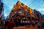 The Temple Bar on Temple Bar Street in Dublin, Ireland on Saturday, June 22nd 2013. (Photo by Brian Garfinkel)