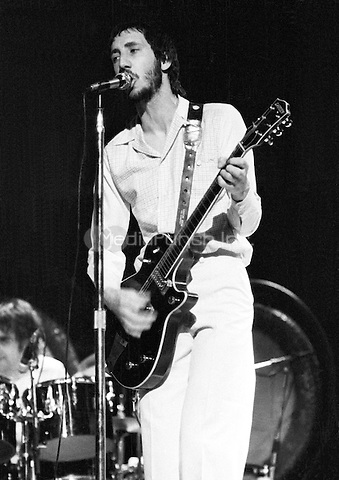 The Who in concert. 1973.  Credit: Ian Dickson/MediaPunch