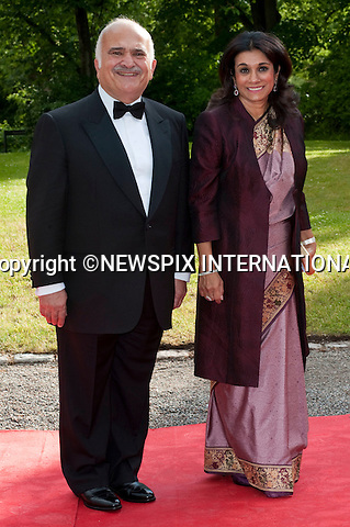 """PRINCE RASHID BIN EL HASSAN and PRINCESS SARVATH EL HASSAN.Pre-Wedding Dinner hosted by the Government of Sweden in honour of H.R.H Crown Princess Victoria and Mr Daniel Westling at Eric Ericsonhallen was attended by Royalty from all over the world. Stockholm_18/06/2010..Mandatory Photo Credit: ©Dias/Newspix International..**ALL FEES PAYABLE TO: """"NEWSPIX INTERNATIONAL""""**..PHOTO CREDIT MANDATORY!!: NEWSPIX INTERNATIONAL(Failure to credit will incur a surcharge of 100% of reproduction fees)..IMMEDIATE CONFIRMATION OF USAGE REQUIRED:.Newspix International, 31 Chinnery Hill, Bishop's Stortford, ENGLAND CM23 3PS.Tel:+441279 324672  ; Fax: +441279656877.Mobile:  0777568 1153.e-mail: info@newspixinternational.co.uk"""