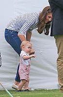 Prince George Takes 1st Steps - UK