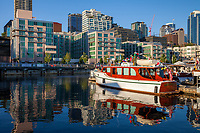 Bell Harbor Marina, Seattle Stock Photos