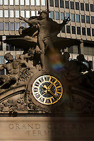 New York, United States. January 23, 2013. .The Sculpture of the Grand Central Station is seen few days before it marks its 100th anniversary on Feb. 2, 2013 in New York City  -- . Photo by Eduardo Munoz Alvarez / VIEWpress.