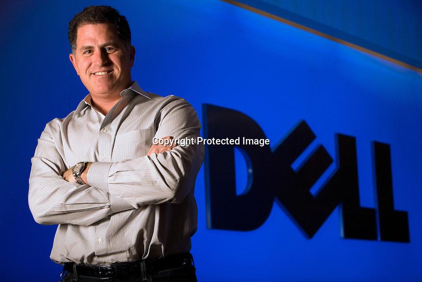 Michael Dell, CEO, Dell Inc. Round Rock, TX<br /> 7/24/08<br /> Photo by Chris Covatta