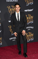 Booboo Stewart at the premiere for Disney's &quot;Beauty and the Beast&quot; at El Capitan Theatre, Hollywood. Los Angeles, USA 02 March  2017<br /> Picture: Paul Smith/Featureflash/SilverHub 0208 004 5359 sales@silverhubmedia.com