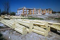 1989 April 14..Assisted Housing..Mission College. Construction Progress Photos..CAPTION...NEG#.NRHA#..