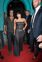 Lady Gaga and Tony Bennett partying in Brussels after their concert - Belgium