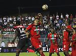 Cortuluá venció 2-1 como local a Independiente Santa Fe. Partido de ida de los Cuartos de Final de la Liga Águila I-2016