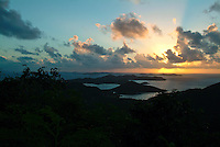 Coral Bay Sunset<br /> St. John<br /> U.S. Virgin Islands