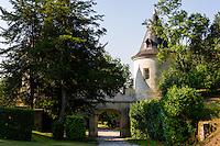 France, Mirambeau. Château de Mirambeau, today a five star hotel.