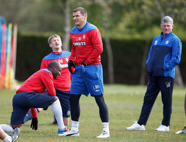 Lee McCulloch sorting himself out