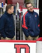 Jason Hodges - The Harvard University Crimson defeated the US National Team Development Program's Under-18 team 5-2 on Saturday, October 8, 2016, at the Bright-Landry Hockey Center in Boston, Massachusetts.