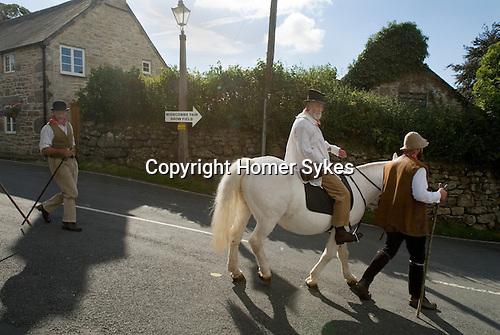 Widecomb Fair, Widecombe in the Moor, Dartmoor, Devon Uk.  Uncle Tom Cobley and All.