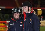 Tara Palmer-Tomkinson & Jodie Kidd. Express Eventing International Cup. © Ian Cook IJC Photography iancook@ijcphotography.co.uk www.ijcphotography.co.uk