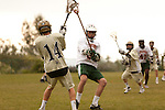 Boys HS Lacrosse at Thacher School Ojai CA 2011.