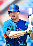 6 March 2010: New York Mets' infielder Ike Davis awaits his turn in the batting cage prior to a Spring Training game against the Washington Nationals at Space Coast Stadium in Viera, Florida. The Mets defeated the Nationals 14-6 in Grapefruit League action. Mandatory Credit: Ed Wolfstein Photo