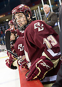 Cam Atkinson (BC - 13) - The University of Massachusetts-Lowell River Hawks defeated the Boston College Eagles 3-1 (EN) on Saturday, January 23, 2010, at Tsongas Arena in Lowell, Massachusetts.