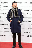 Lorenzo Castillo at Vogue December Issue Mario Testino Party