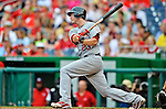 2 September 2012: St. Louis Cardinals third baseman David Freese in action against the Washington Nationals at Nationals Park in Washington, DC. The Nationals edged out the visiting Cardinals 4-3, capping their 4-game series with three wins. Mandatory Credit: Ed Wolfstein Photo