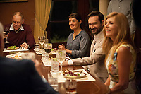 Beatriz at Dinner (2017) <br /> David Warshofsky, Salma Hayek, Jay Duplass, Connie Britton<br /> *Filmstill - Editorial Use Only*<br /> CAP/FB<br /> Image supplied by Capital Pictures