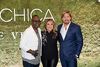 LAS VEGAS, NV - May 12, 2017: ***HOUSE COVERAGE*** Randy Jackson, Lorena Garcia and John Kunkel pictured at Chica Las Vegas Grand Opening at The Venetian Las Vegas in Las Vegas, NV on May 12, 2017. Credit: Erik Kabik Photography/ MediaPunch