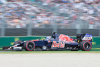 March 20, 2016: Max Verstappen (NDL) #33 from the Scuderia Toro Rosso team at turn two of the 2016 Australian Formula One Grand Prix at Albert Park, Melbourne, Australia. Photo Sydney Low