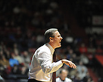 Mississippi State coach Rick Stansbury at the C.M. &quot;Tad&quot; Smith Coliseum in Oxford, Miss. on Wednesday, January 18, 2012. (AP Photo/Oxford Eagle, Bruce Newman).