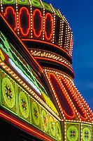 Las Vegas, Resort, Neon Lights, lit at night, Casino; Hotel; Strip; gambling; shopping, Dramatic, Photo