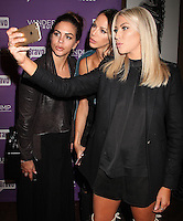 NEW YORK, NY - NOVEMBER 2:  Katie Maloney,  Kristen Doute and Stassi Schroeder  pictured as BRAVO's 'Vanderpump Rules' cast at the kick-off of first ever 'VanderCrawl' bar crawl in New York, New York on November 2, 2016. Credit: Rainmaker Photo/MediaPunch