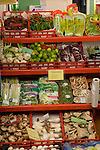 Variety of salad vegetables, Santa Cruz market,Tenerife, Canary Islands.