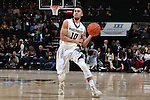28 February 2016: Wake Forest's Mitchell Wilbekin. The Wake Forest University Demon Deacons hosted the Virginia Tech Hokies at Lawrence Joel Veterans Memorial Coliseum in Winston-Salem, North Carolina in a 2015-16 NCAA Division I Men's Basketball game. Virginia Tech won the game 81-74.