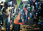 People participate in a weekly market in Despagne, an isolated village in southern Haiti where the Lutheran World Federation has been working with residents to improve their quality of life.