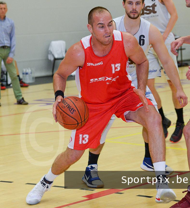 Kortrijk Sport CB : Michael Jegou<br /> Foto DAVID CATRY | VDB | Bart Vandenbroucke