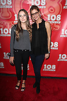 Annabelle Negron and mother Kate Vernon<br /> &quot;108 Stitches&quot; World Premiere, Harmony Gold, Los Angeles, CA 09-10-14<br /> David Edwards/DailyCeleb.com 818-249-4998