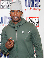 Jamie Foxx Visits Power 99 Performance Studio