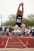 SAN ANTONIO, TX - MARCH 16, 2007: UTSA Relays Track & Field Meet - Day 1 at Jerry Comalander Stadium. (Photo by Jeff Huehn)